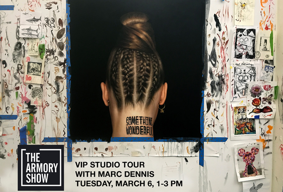 Artist Marc Dennis VIP Studio Tour - The Armory Show